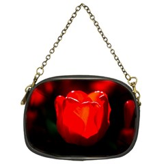 Red Tulip A Bowl Of Fire Chain Purse (one Side) by FunnyCow