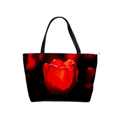 Red Tulip A Bowl Of Fire Classic Shoulder Handbag by FunnyCow