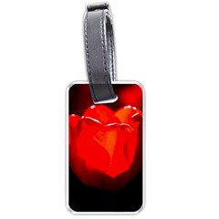 Red Tulip A Bowl Of Fire Luggage Tags (two Sides) by FunnyCow