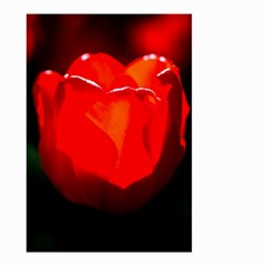 Red Tulip A Bowl Of Fire Small Garden Flag (two Sides)