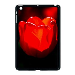 Red Tulip A Bowl Of Fire Apple Ipad Mini Case (black) by FunnyCow