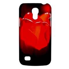 Red Tulip A Bowl Of Fire Samsung Galaxy S4 Mini (gt I9190) Hardshell Case  by FunnyCow