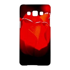 Red Tulip A Bowl Of Fire Samsung Galaxy A5 Hardshell Case  by FunnyCow