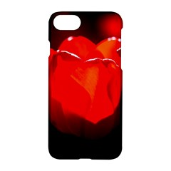 Red Tulip A Bowl Of Fire Apple Iphone 8 Hardshell Case by FunnyCow