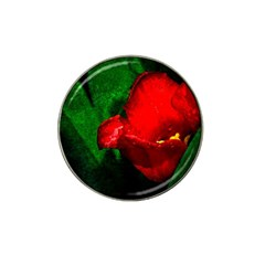 Red Tulip After The Shower Hat Clip Ball Marker (10 Pack) by FunnyCow