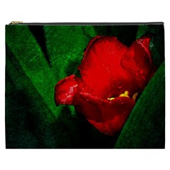 Red Tulip After The Shower Cosmetic Bag (xxxl)