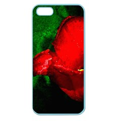 Red Tulip After The Shower Apple Seamless Iphone 5 Case (color) by FunnyCow