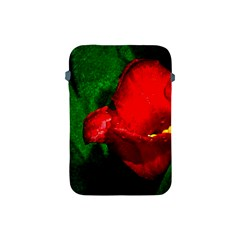 Red Tulip After The Shower Apple Ipad Mini Protective Soft Cases