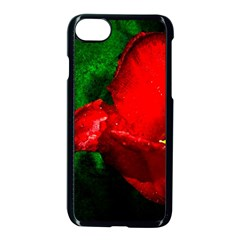 Red Tulip After The Shower Apple Iphone 8 Seamless Case (black) by FunnyCow