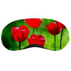 Red Tulip Flowers, Sunny Day Sleeping Masks by FunnyCow