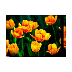 Yellow Orange Tulip Flowers Ipad Mini 2 Flip Cases by FunnyCow