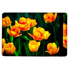 Yellow Orange Tulip Flowers Ipad Air Flip by FunnyCow