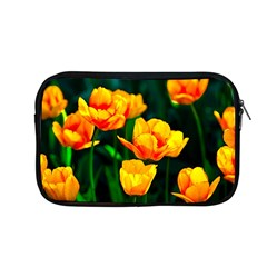 Yellow Orange Tulip Flowers Apple Macbook Pro 13  Zipper Case by FunnyCow