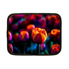 Red Tulips Netbook Case (small)