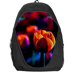 Red Tulips Backpack Bag by FunnyCow
