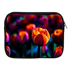 Red Tulips Apple Ipad 2/3/4 Zipper Cases by FunnyCow