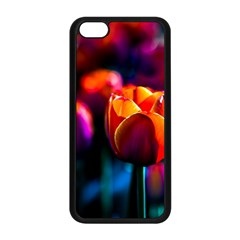 Red Tulips Apple Iphone 5c Seamless Case (black) by FunnyCow