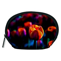Red Tulips Accessory Pouch (medium) by FunnyCow