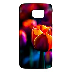 Red Tulips Samsung Galaxy S6 Hardshell Case