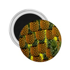 Tropical Pineapple 2 25  Magnets