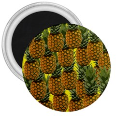 Tropical Pineapple 3  Magnets