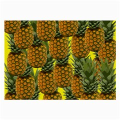 Tropical Pineapple Large Glasses Cloth