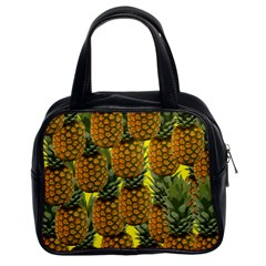 Tropical Pineapple Classic Handbag (two Sides)