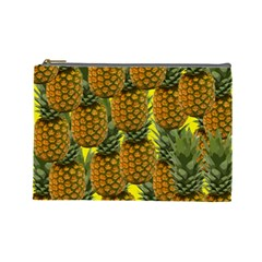 Tropical Pineapple Cosmetic Bag (large)