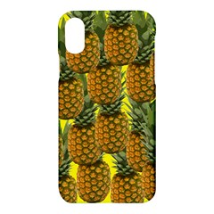 Tropical Pineapple Apple Iphone X Hardshell Case