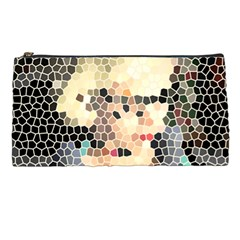Stained Glass Girl Pencil Cases by snowwhitegirl