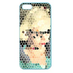 Stained Glass Girl Apple Seamless Iphone 5 Case (color) by snowwhitegirl