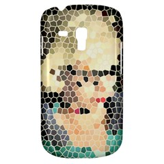 Stained Glass Girl Samsung Galaxy S3 Mini I8190 Hardshell Case by snowwhitegirl