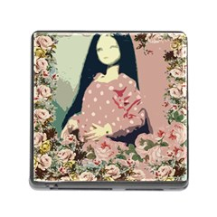 Rose Floral Doll Memory Card Reader (square 5 Slot) by snowwhitegirl