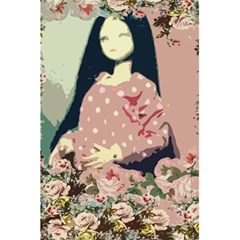 Rose Floral Doll 5 5  X 8 5  Notebook by snowwhitegirl