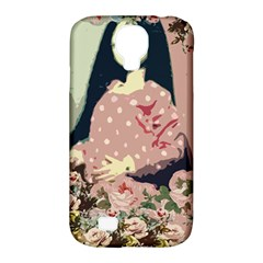 Rose Floral Doll Samsung Galaxy S4 Classic Hardshell Case (pc+silicone) by snowwhitegirl