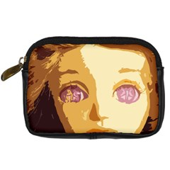 Butterfly Eyes Digital Camera Leather Case