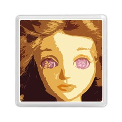 Butterfly Eyes Memory Card Reader (square) by snowwhitegirl
