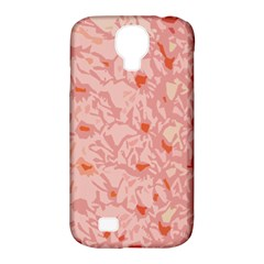 Pink Crochet Samsung Galaxy S4 Classic Hardshell Case (pc+silicone) by snowwhitegirl