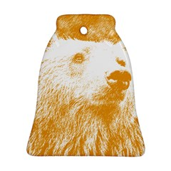 Bear Bell Ornament (two Sides)
