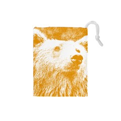 Bear Drawstring Pouch (small)