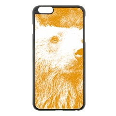 Bear Apple Iphone 6 Plus/6s Plus Black Enamel Case