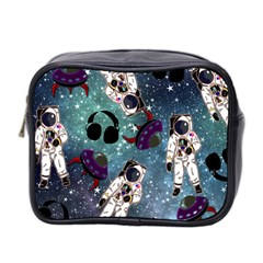 Astronaut Space Galaxy Mini Toiletries Bag (two Sides)