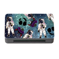 Astronaut Space Galaxy Memory Card Reader With Cf