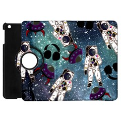 Astronaut Space Galaxy Apple Ipad Mini Flip 360 Case by snowwhitegirl