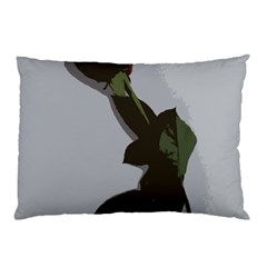 Red Rose Pillow Case (two Sides) by snowwhitegirl