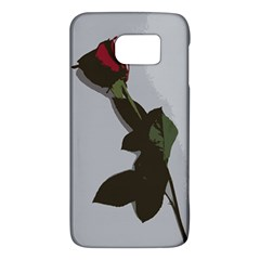 Red Rose Samsung Galaxy S6 Hardshell Case