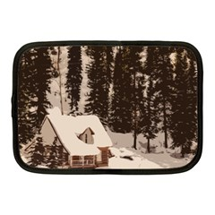 Cottage Netbook Case (medium) by snowwhitegirl
