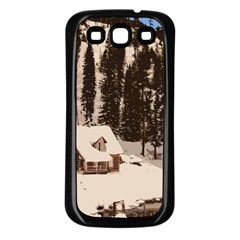 Cottage Samsung Galaxy S3 Back Case (black)