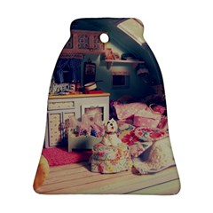 Caravan Bell Ornament (two Sides)