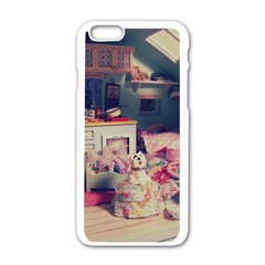 Caravan Apple Iphone 6/6s White Enamel Case